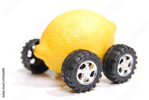Fotografia, Obraz  A lemon