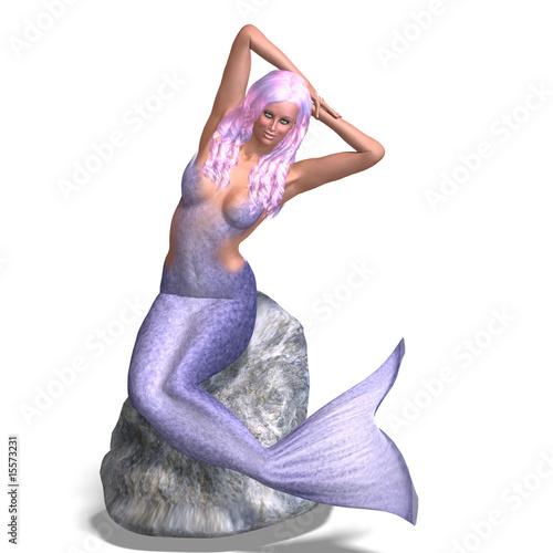 Wall Murals Mermaid beautiful mermaid