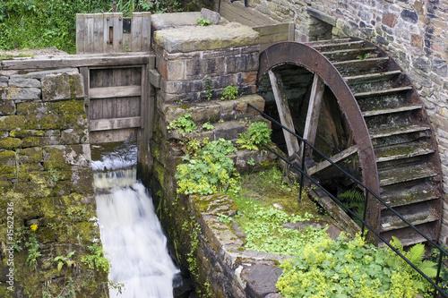 Aluminium Prints Mills Waterwheel