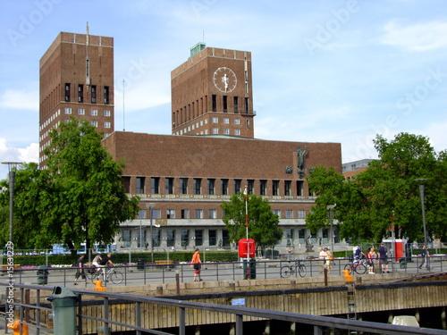 Photo  Rathaus Oslo.