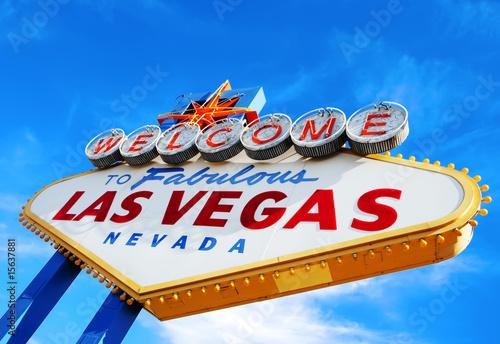 Poster Las Vegas Las Vegas Welcome Sign