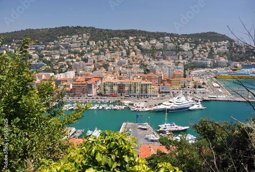 Fotografía  Nizza Hafen von oben