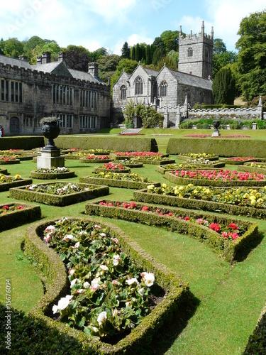 Fotografie, Obraz  Gardens at Lanhydrock Castle near Bodmin in Cornwall England