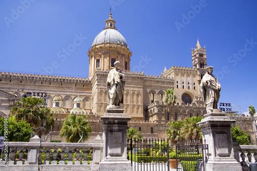 Papiers peints Palerme Cathedral of Palermo