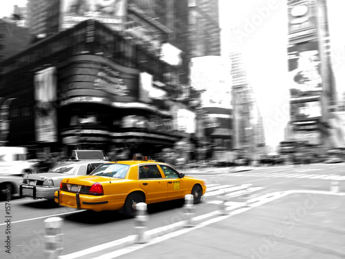 Foto op Canvas New York TAXI Taxi at times square