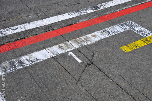 Photo sur Aluminium Motorise Formel 1 - Motorsport - pole position (Startplatz 1)