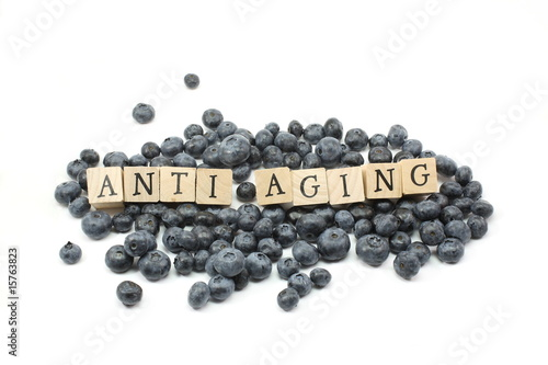 Fotografía  Anti Aging Blueberries