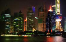 Shanghai / China - Pudong Skyl...