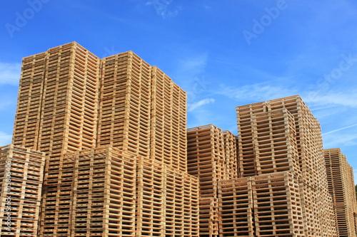 Fotografie, Obraz  immeubles de bois