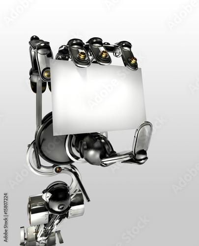 Main Robot Carte De Visite