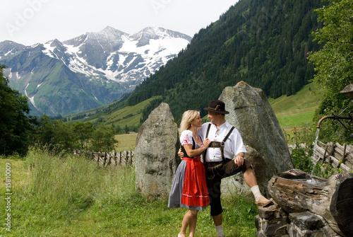 Valokuva  trachten und berge