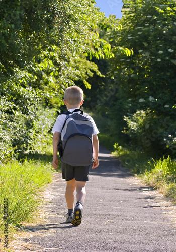 Fotografía  Schoolboy