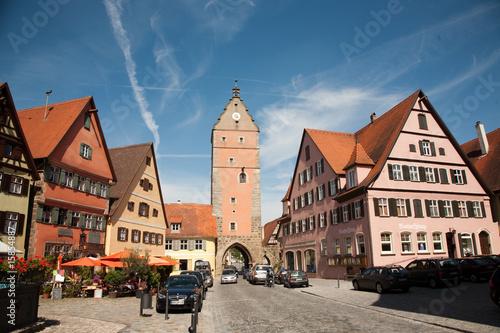 Fotografía  Dinkelsbühl,Blick von Altstadt auf das Wörnitzer Stadttor