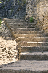 Fototapeta Stare kamienne schody