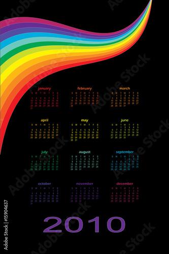 Fényképezés  2010 Rainbow Calendar