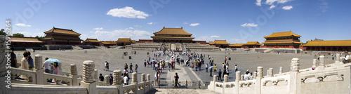 Poster Pekin Forbidden City, Beijing, Panorama