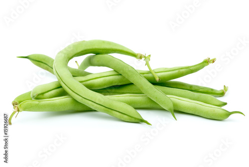 Fotografía  Small pile of green bean pods