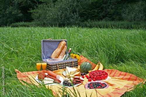 Foto op Canvas Picknick Picknick