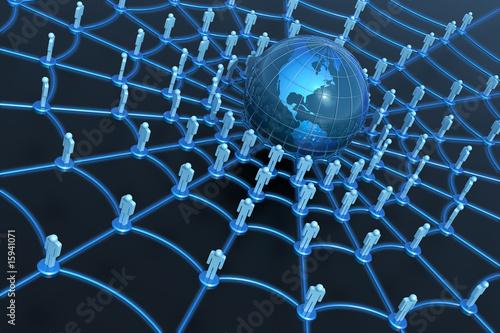Im Spinnennetz der Social Media