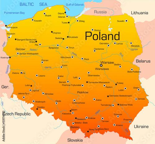 Canvas Print Poland