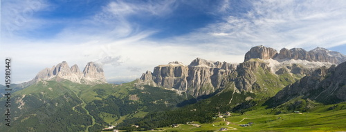 Dolomiti, panorama Canvas-taulu