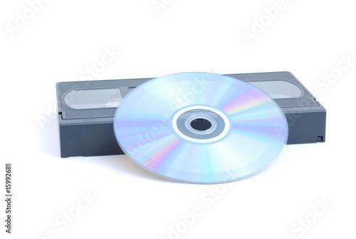Valokuva  Dalla videocassetta al compact disc