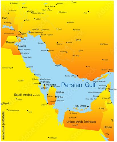 Photo  Persian gulf