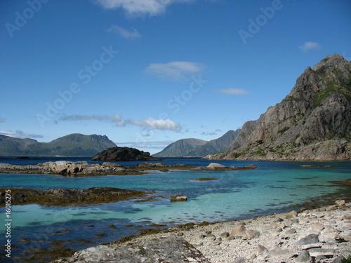 Foto-Leinwand - Lofoten - Norvège