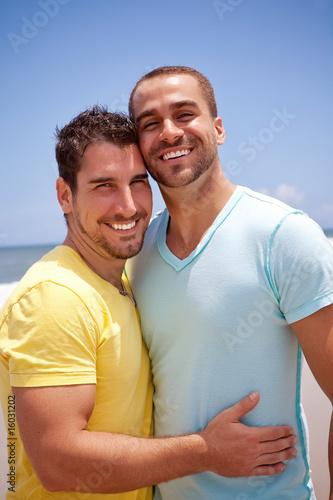 Fotografie, Obraz  Gay couple