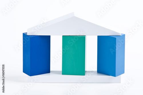 Fotografía  Drei Säulen