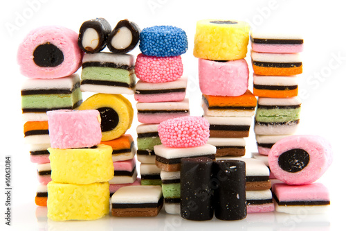 licorice allsorts Canvas Print