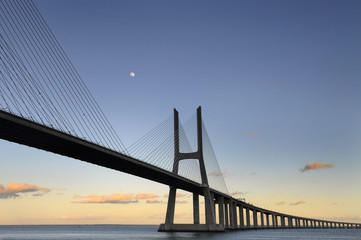 Obraz na Szkle Vasco da Gama Bridge