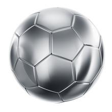 Soccerball In Silver