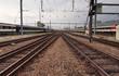 Zug Gleise Start
