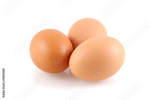 Fotografie, Obraz  Three eggs.