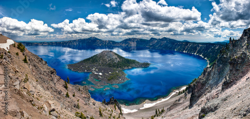 Crater Lake Panorama Fototapete