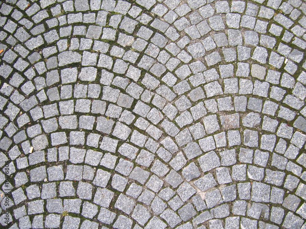 Fototapety, obrazy: Texture of cobblestone