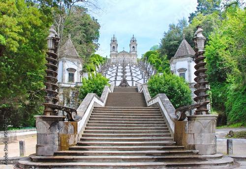 Fotografie, Obraz  Bom Jesus  Escadaria
