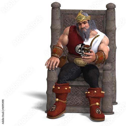 Photo  king of the fantasy dwarves