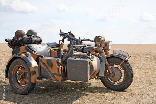 Fototapety, obrazy: Military motorcycle