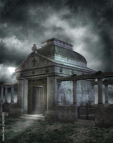 Obraz na plátně Gothic scenery 18