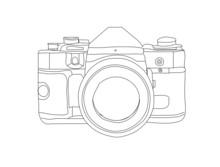 Camera Hand Sketched