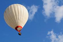 Hot Air Ballon And Blue Sky