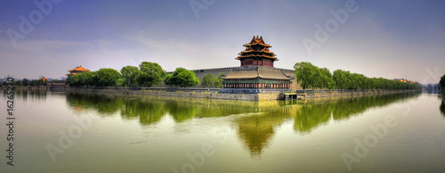 Stickers pour porte Pekin Forbidden City Panorama - Beijing (Peking) - China