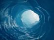 Leinwandbild Motiv Eiskanal