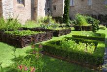 Medieval Herb- And Flower Garden