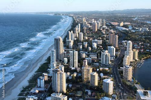 Foto-Kassettenrollo premium - Australia - Surfers Paradise in Gold Coast