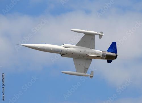 Photo  High speed jetfighter