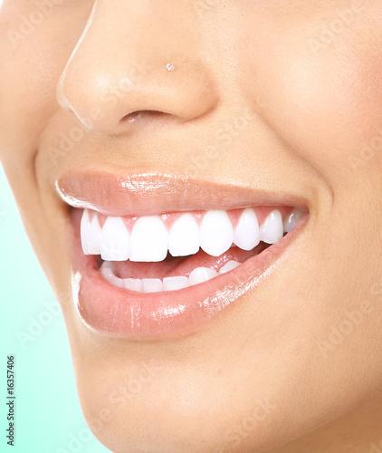 Woman teeth #16357406