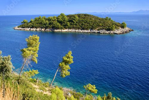 Fotografie, Obraz  Small island near Korcula, Croatia
